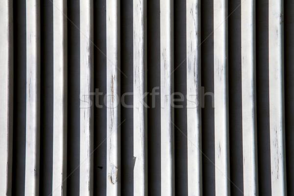 Ablak Olaszország fa redőny absztrakt beton Stock fotó © lkpro