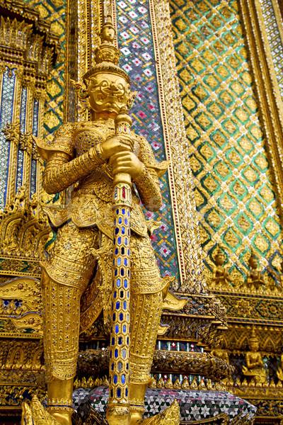 демон храма Бангкок Азии монстр Таиланд Сток-фото © lkpro
