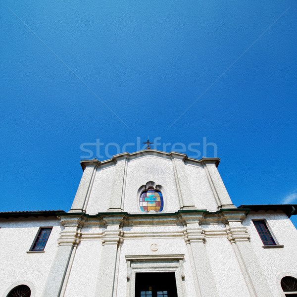 old architecture in italy europe milan religion and sunlight Stock photo © lkpro