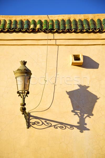 Marrocos África telhado telha decoração Foto stock © lkpro