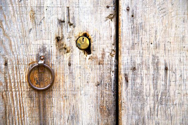 Goud metaal roestige Marokko afrika oude Stockfoto © lkpro