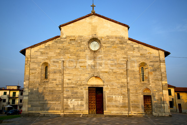 Italië oude kerk gesloten baksteen toren Stockfoto © lkpro