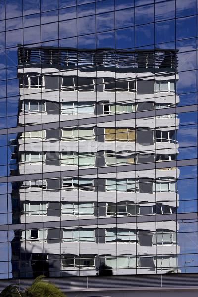 Reflex wolk paleis ander centrum Stockfoto © lkpro