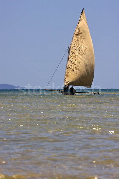 sailing in madagascar Stock photo © lkpro
