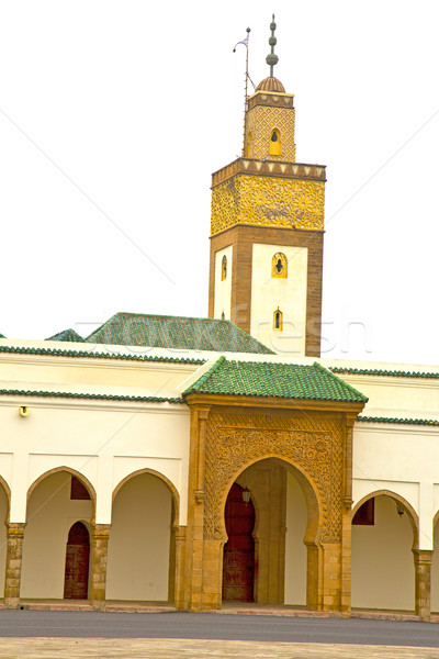 muslim in      morocco  africa  minaret   religion    sky Stock photo © lkpro