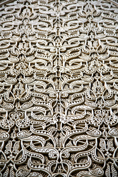 Gris metal Rusty Marruecos África madera vieja Foto stock © lkpro