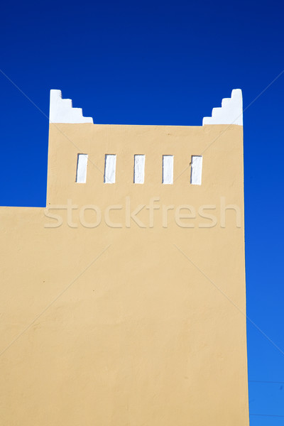 muslim  history  symbol  in morocco  africa  minaret   Stock photo © lkpro