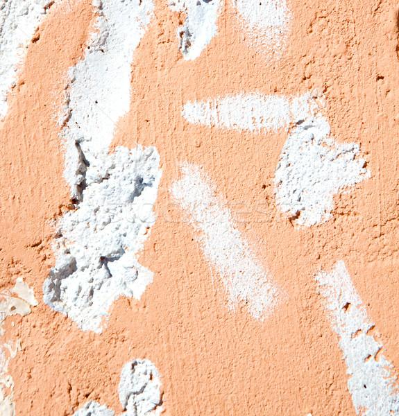 Rózsaszín textúra fal Marokkó Afrika absztrakt Stock fotó © lkpro