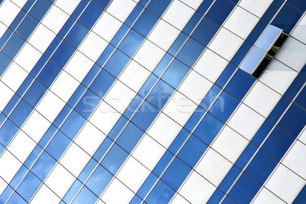 Reflex terras centrum Thailand paleis venster Stockfoto © lkpro