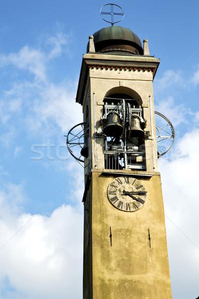 古い 抽象的な 鐘 イタリア 壁 ストックフォト © lkpro