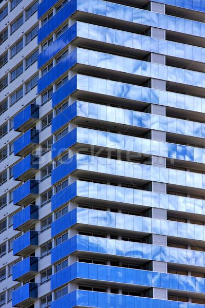 Nube palazzo centro Buenos Aires riflesso Foto d'archivio © lkpro