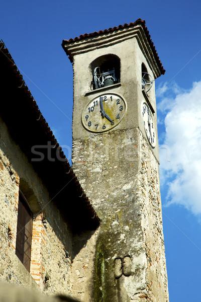 Eski soyut İtalya duvar çan Stok fotoğraf © lkpro