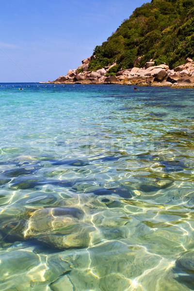 asia   the bay kho tao    white  beach      Stock photo © lkpro