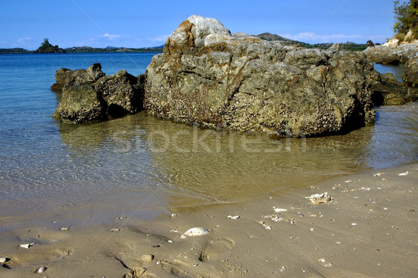 rocks and water in mamoko bay Stock photo © lkpro