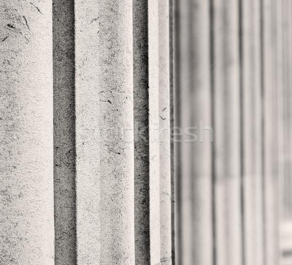 Tuğla Londra doku soyut duvar ev Stok fotoğraf © lkpro