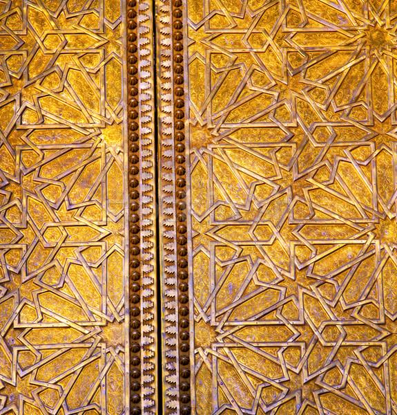 Gris métal rouillée Maroc Afrique or Photo stock © lkpro