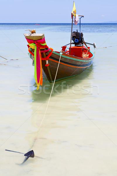 anchor thailand  in  kho tao bay   Stock photo © lkpro