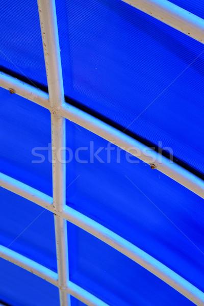 пластиковых аннотация пирс крыши Азии строительство Сток-фото © lkpro