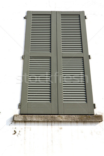 shutter europe  italy  lombardy         the milano old   window  Stock photo © lkpro
