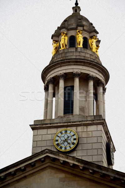 Arhitectura veche Anglia Londra Europa perete istorie Imagine de stoc © lkpro