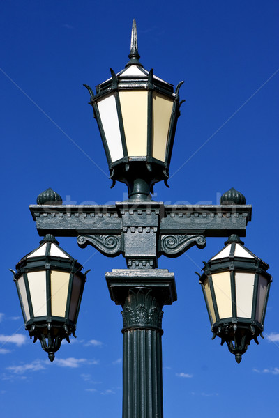 green street lamp  Stock photo © lkpro