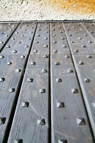 arsago   closed wood italy  lombardy   Stock photo © lkpro