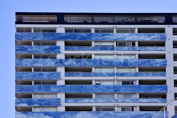 рефлекс облаке центр Буэнос-Айрес дворец Сток-фото © lkpro