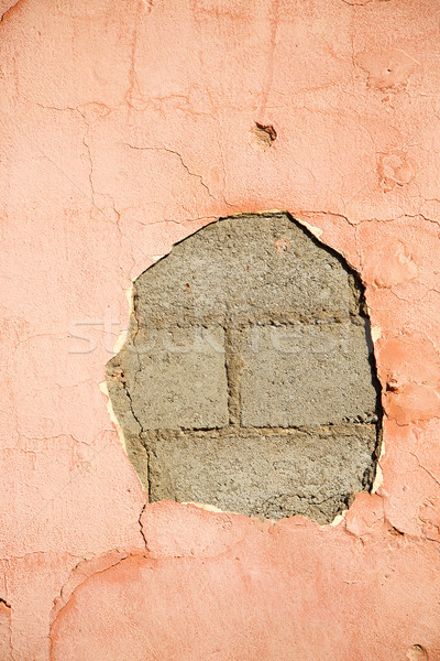 pink in texture wall and  morocco   abstract Stock photo © lkpro