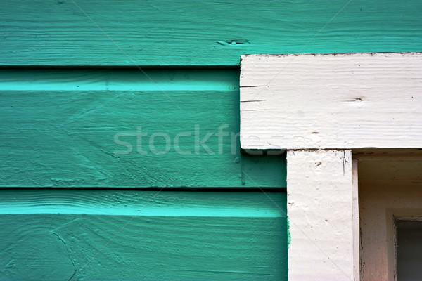 close up of a green door Stock photo © lkpro
