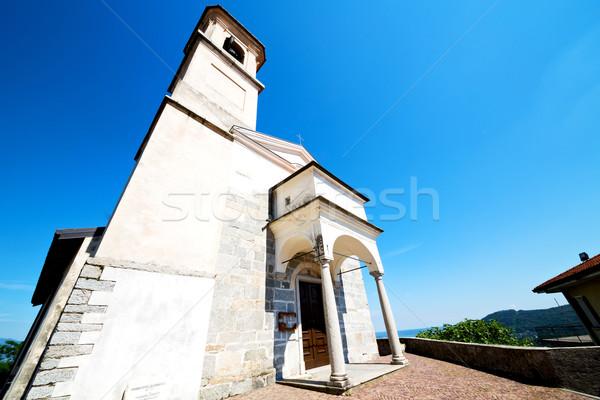 Arquitetura Itália europa luz solar coluna Foto stock © lkpro