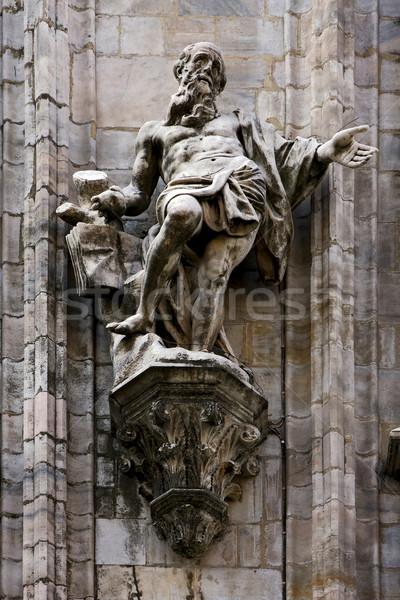 статуя окна Бога мрамор история Сток-фото © lkpro