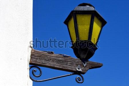 Уругвай белый стены дома свет Сток-фото © lkpro