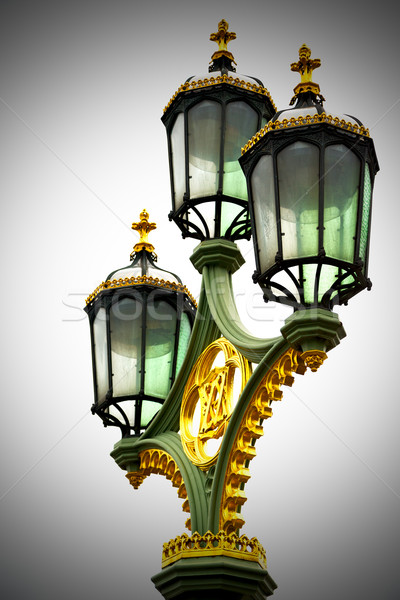 europe in the sky of london lantern and abstract illumination Stock photo © lkpro