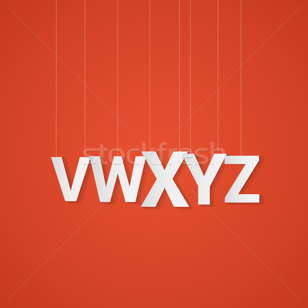 Some letters. Sale alphabet style Stock photo © logoff
