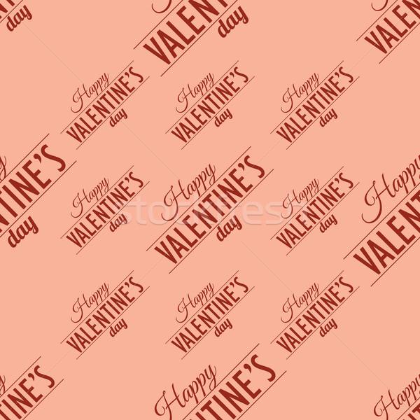 Vektor végtelenített tipográfiai papír esküvő háló Stock fotó © logoff