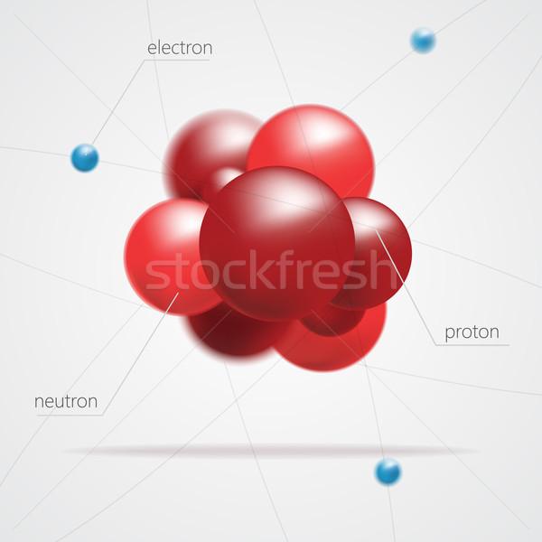 структуры вектора дизайна синий группа Сток-фото © logoff