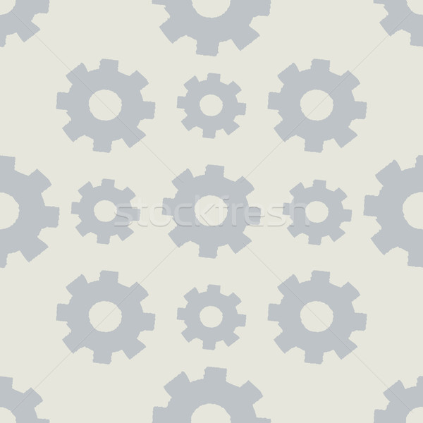 Seamless background with gears. Stock photo © logoff