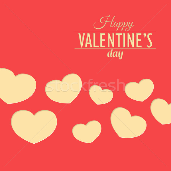Heart for Valentine's Day card Stock photo © logoff