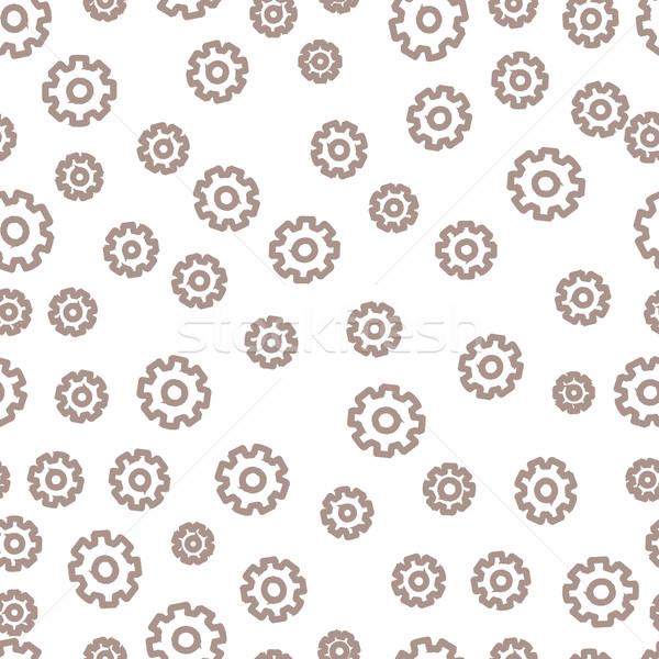 シームレス 歯車 テクスチャ 抽象的な デザイン 背景 ストックフォト © logoff