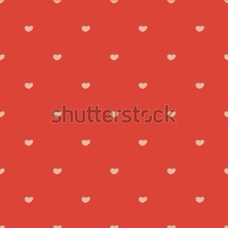 Seamless pattern with hearts.Vector illustration Stock photo © logoff