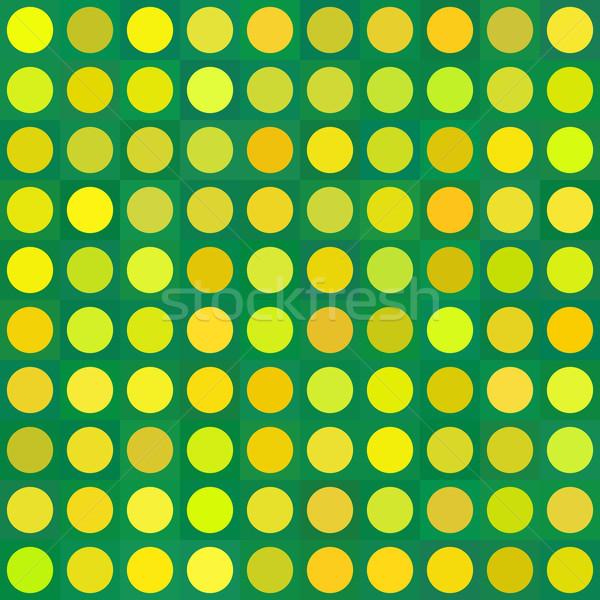 бесшовный три цвета девочек шаблон Сток-фото © logoff