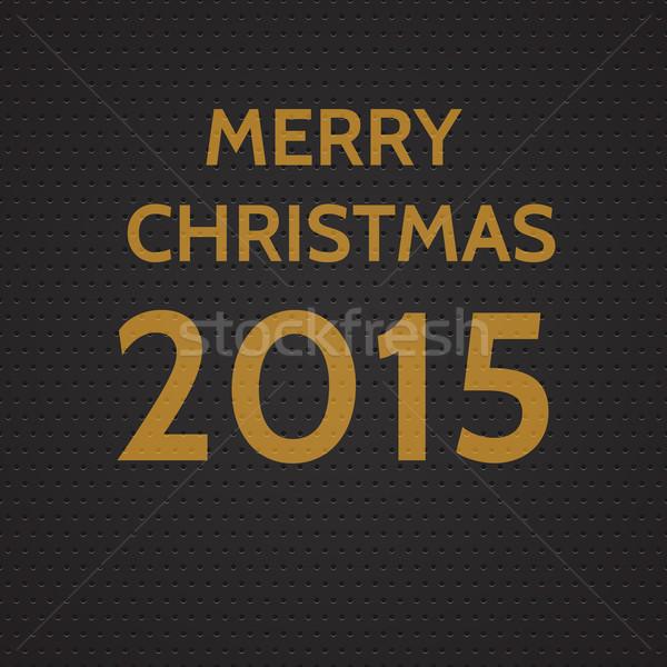 Stock photo: Year 2015 background
