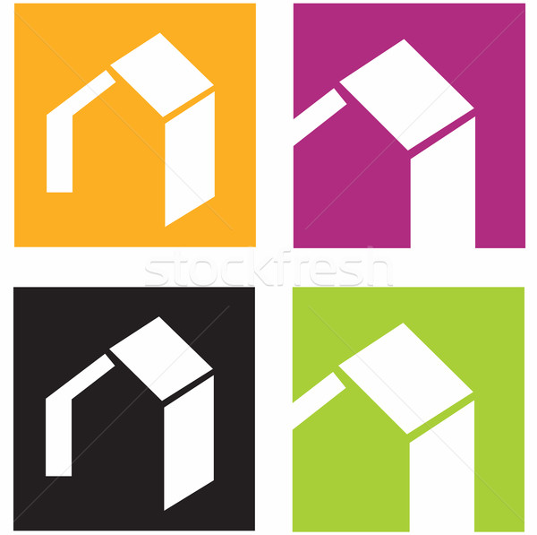 House Vector Icons  Stock photo © lordalea