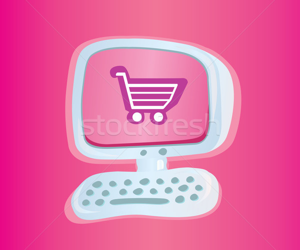 Online Shopping  Stock photo © lordalea