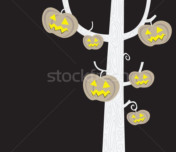 Halloween Tree  Stock photo © lordalea