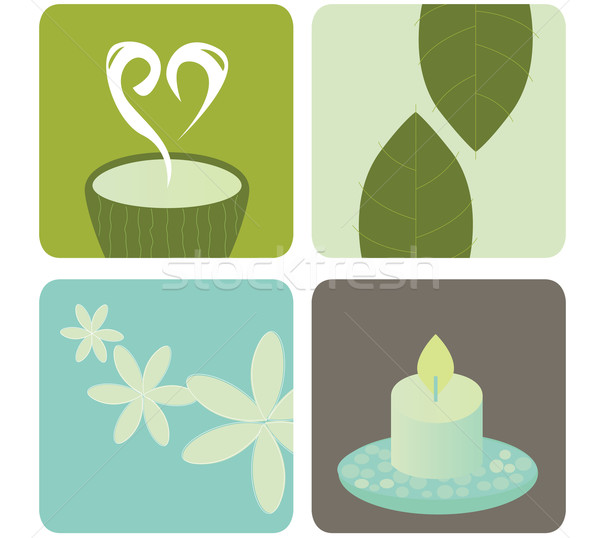 Wellness And Relaxation Icon Pack  Stock photo © lordalea