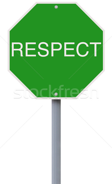 Respect  Stock photo © lorenzodelacosta