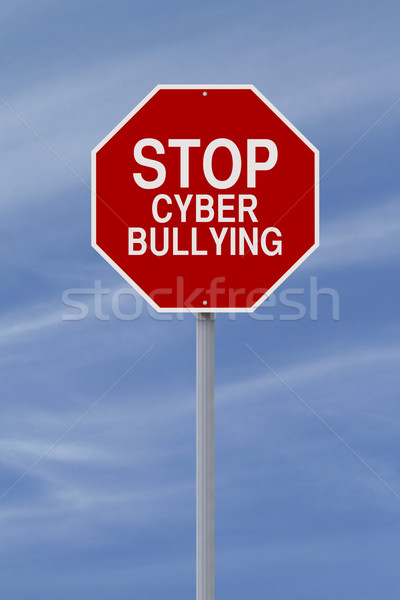 Stop Cyber Bullying  Stock photo © lorenzodelacosta