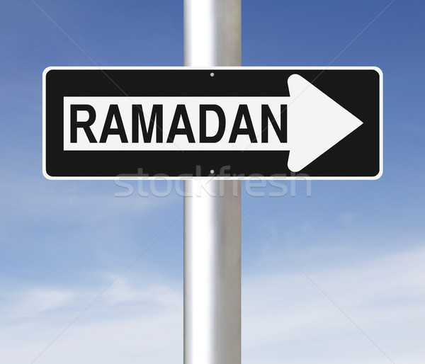 Ramadan This Way   Stock photo © lorenzodelacosta