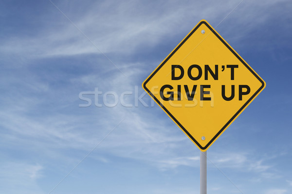 Don't Give Up  Stock photo © lorenzodelacosta